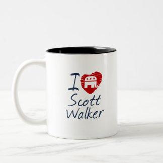 Kids Love Scott Walker 2016 Scribble Design Mugs