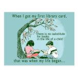 Kids Love To Read Postcard