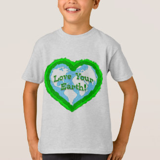 Kids Love Your Earth Shirt