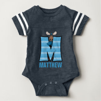 "Kids ""M"" Monogrammed 