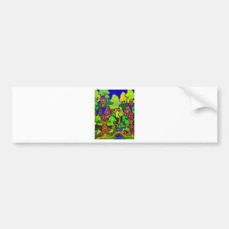 Kids Magic Treehouse Bumper Sticker