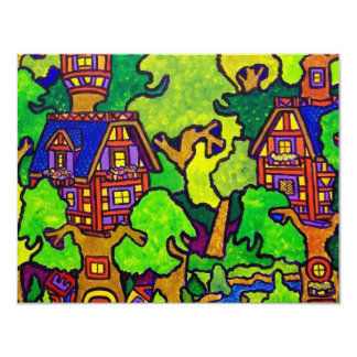 Kids Magic Treehouse Card