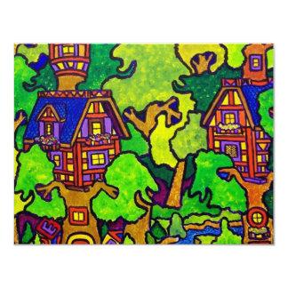 Kids Magic Treehouse 4.25x5.5 Paper Invitation Card