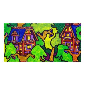 Kids Magic Treehouse Photo Card