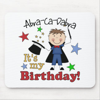 Kids Magician Birthday Mouse Pads