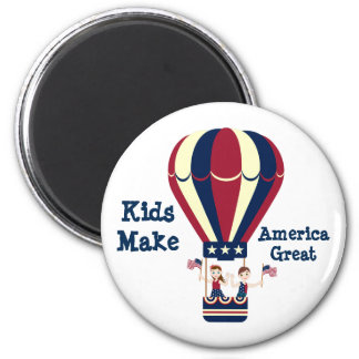 Kids Make America Great Magnet
