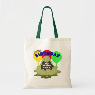 Kids Monster Birthday Canvas Bags