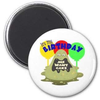 Kids Monster Birthday Magnets