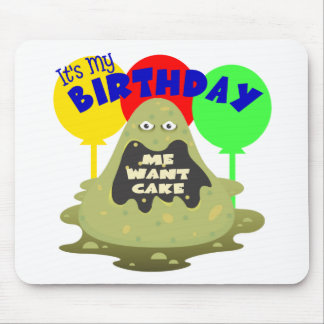 Kids Monster Birthday Mouse Pads