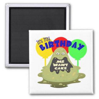 Kids Monster Birthday Refrigerator Magnets