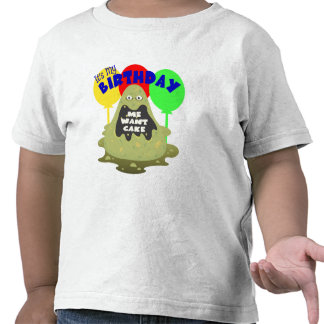 Kids Monster Birthday T-shirt