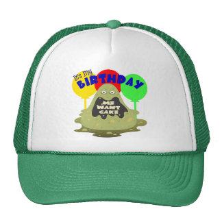 Kids Monster Birthday Trucker Hat