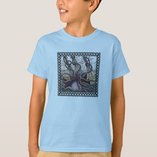 Kids Monster from the Deep Shirt