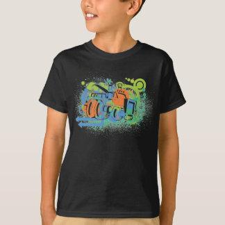 Kids Monster Truck Shirt in Black