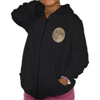 Kid's Moon Hoodie Full Moon Kid's Sweatshirts