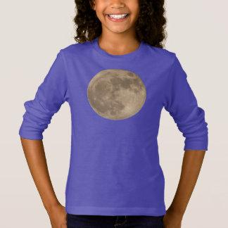 Kid's Moon Shirt Full Moon Girl's Sweatshirts