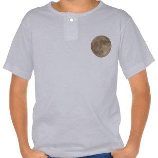 Kid's Moon Shirt Full Moon Kid's Moon Jersey Shirt