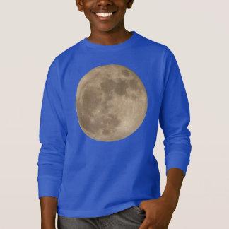 Kid's Moon Shirt Full Moon Kid's Sweatshirts