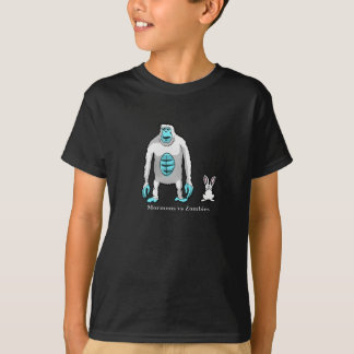 Kids' Mormons vs. Zombies Abominable Snow Zombie T T-Shirt