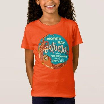 Beach Themed Kids' Morro Bay Octopus Shirt