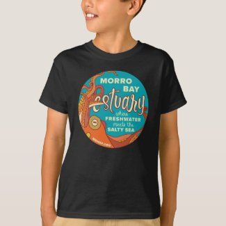 Kids' Morro Bay Octopus Vintage-Look Shirt