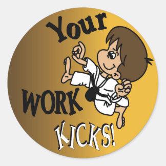 Kids Motivational Stickers