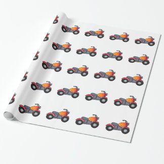 KIDS MOTORCYCLE WRAPPING PAPER