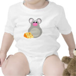 Kids Mouse Cartoon Baby Bodysuit