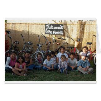 kids n bikes card