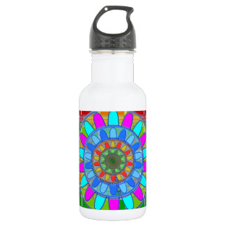 Kids n Guest Room Deco: Unique Rich Energy Prints Stainless Steel Water Bottle