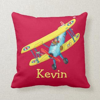 Kids name dog - Customize pillow