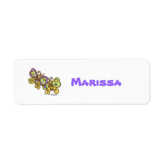 Kids Name Labels