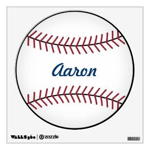 Kidu0027s Name Sports Baseball Wall Decal Decor