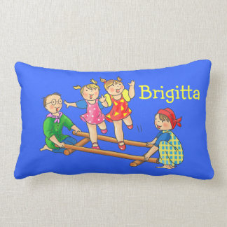 Kids name tinikling dance - Pillow