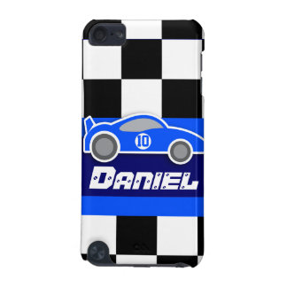 kids named blue sports car autosports ipod case iPod touch (5th generation) case