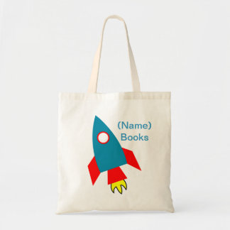 Kids named id Rocket book tote bag