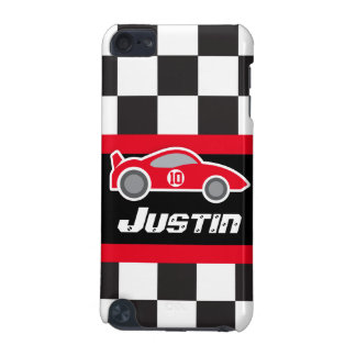 Kids named red sports car autosports ipod case