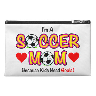 """Kids Need Goals"" Soccer Mom Accessory Bag"