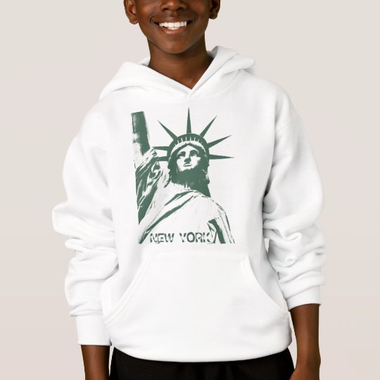 Kid's New York Hoodie Statue of Liberty Souvenir