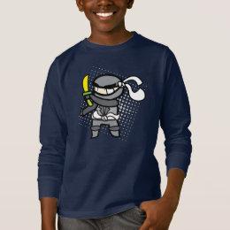 Kid's ninja long sleeve tshirt