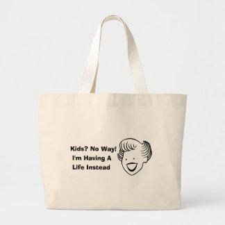 Kids No Way Jumbo Tote Bag