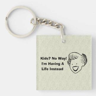 Kids No Way Keychain