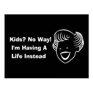 Kids No Way Postcard
