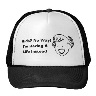 Kids No Way Trucker Hat