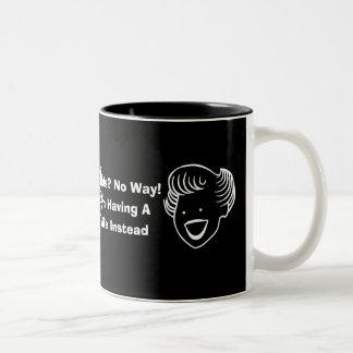 Kids No Way Two-Tone Coffee Mug