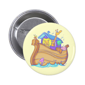 Kids Noahs Ark T Shirts and Gifts Pinback Button