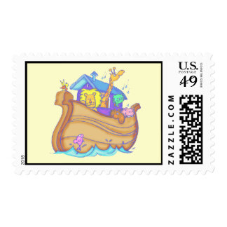 Kids Noahs Ark T Shirts and Gifts Postage Stamp