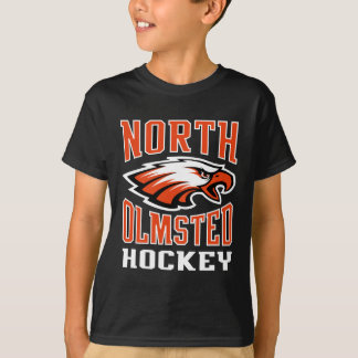 Kids North Olmsted Hockey Black tee