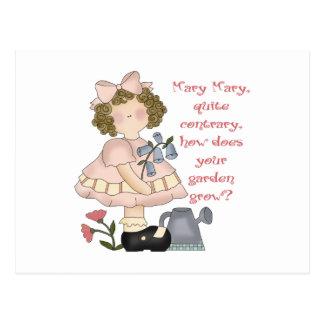Kids Nursery Rhyme Gift Postcard