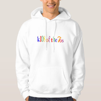 Kids of the 70's new logo hoodie